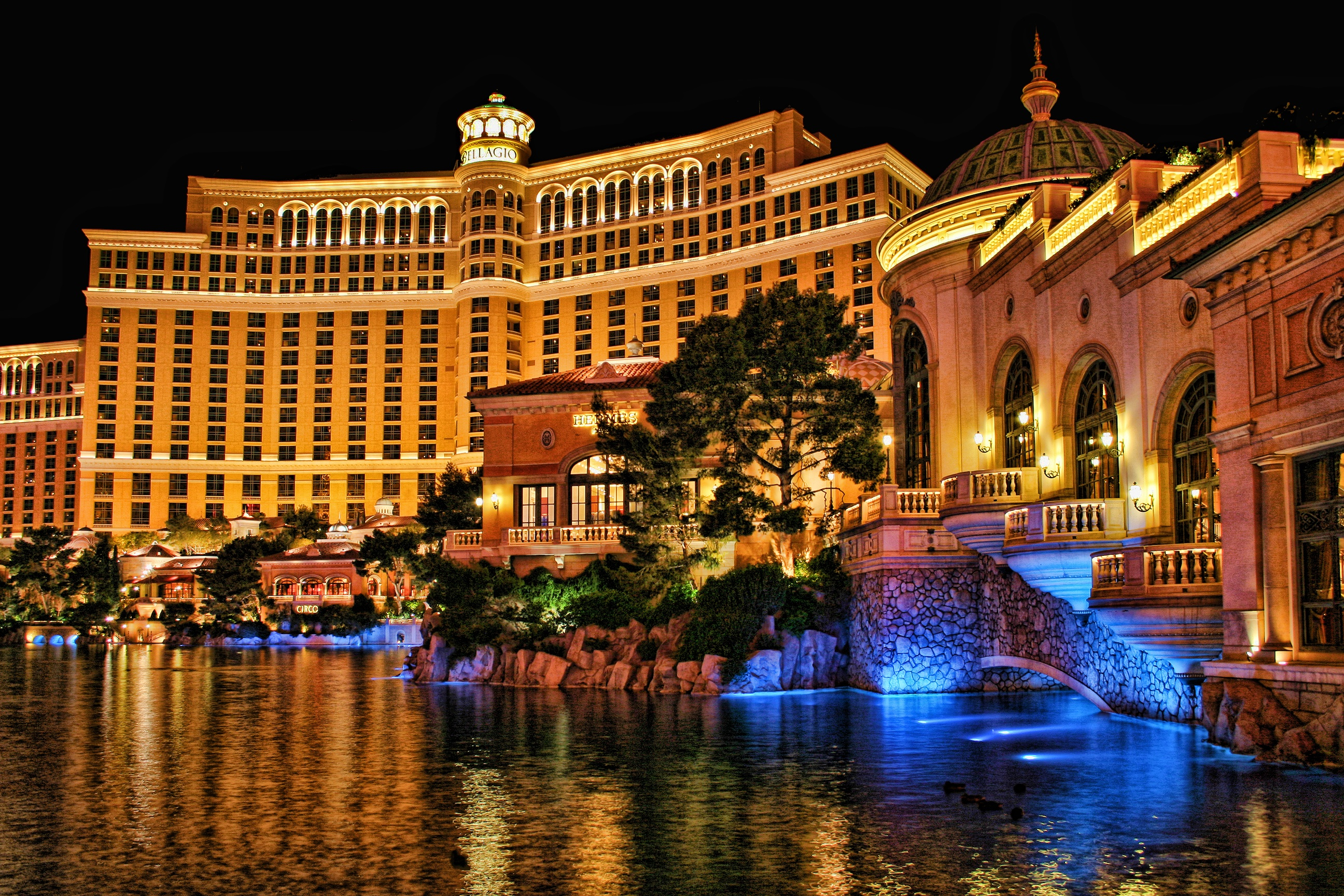 Four Splendid Nights at the Bellagio, Las Vegas