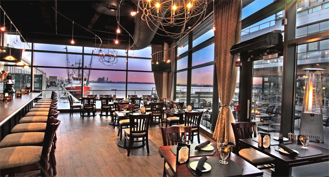 A Cozy Tuesday Evening Dining at 75 on Liberty Wharf