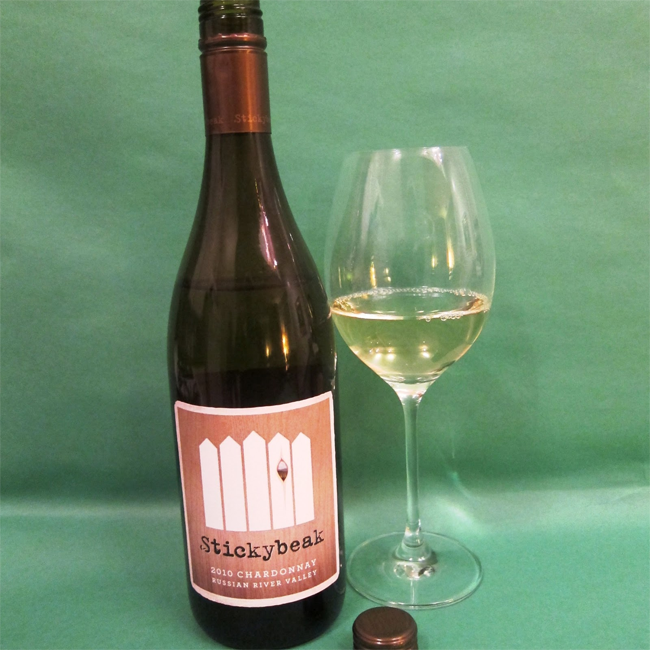 Stickybeak Chardonnay 2010, Russian River Valley