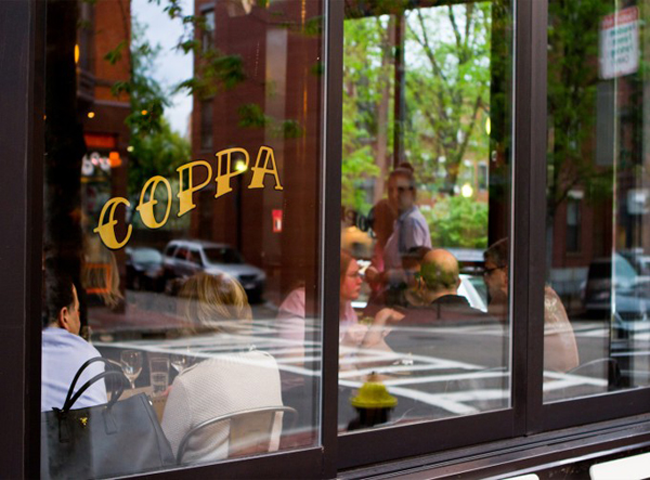 Mid-week Lunch at Coppa, South End