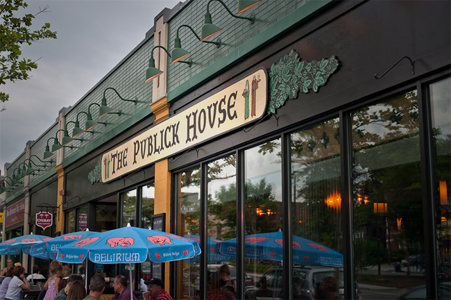 The Publick House, Washington Square, Brookline