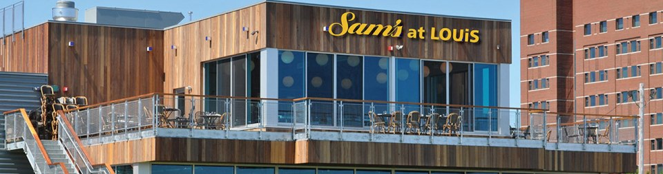 Sam's – Fun on the Patio, Seaport