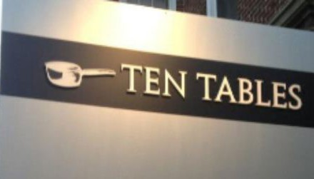 Ten Tables, Harvard Square, Cambridge – NOW CLOSED