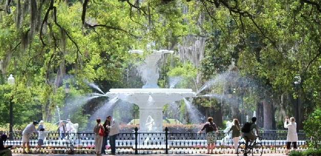 A Weekend Getaway in Historic Savannah, Georgia