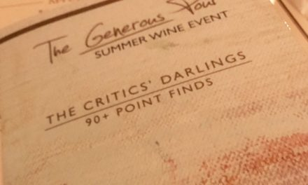 The Generous Pour 2017 at the Capital Grille, Boston